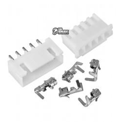 Разъем XH2.54-5pin, разъем, штекер, 5 коннектора JST