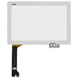 Тачскрин для планшета Asus MeMO Pad 10 ME102A, белый, #MCF-101-1856-01-FPC-V1.0