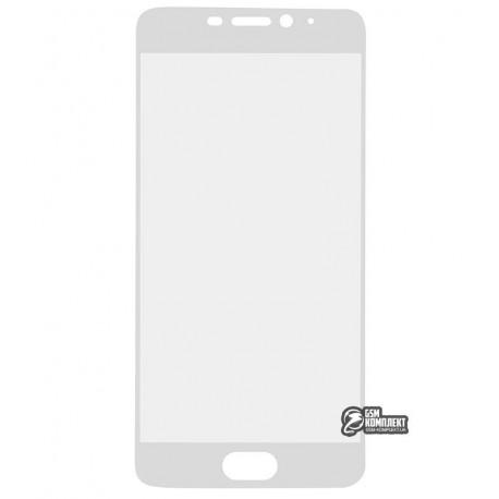 Загартоване захисне скло для Meizu M5 NOTE, 0,26 mm 9H, 2.5D, біле
