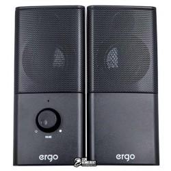 Акустическая система ERGO S-08 USB 2.0, Black