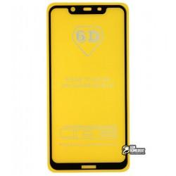 Закаленное защитное стекло для Nokia 8.1, 0,33 мм, 2.5D, 9H, Full Glue, черное