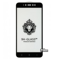Закаленное защитное стекло для Xiaomi Redmi Note 5A 0,26 мм 9H, 2.5D, Full Glue