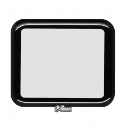 Закаленное защитное стекло для Apple Watch 42mm, 0,26 mm 9H, 3D Glass, 3D, черное
