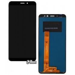 Дисплей для Meizu M6s, черный, с сенсорным экраном, Original (PRC)