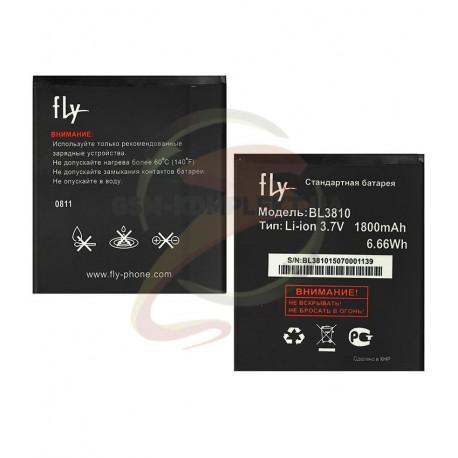 Аккумулятор BL3810 для Fly IQ4402, IQ4404, IQ4407, Li-ion, 3,7 В, 1800 мАч