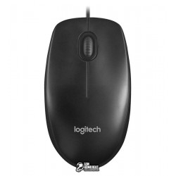 Мышь Logitech M90 Optical Mouse Black USB (910-001794)
