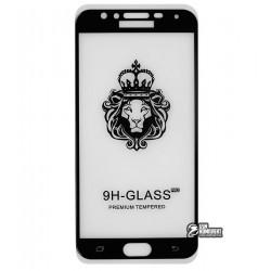 Закаленное защитное стекло для Samsung J400 Galaxy J4, 0,26 мм 9H, Full Glue