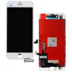 Дисплей iPhone 7, белый, с сенсорным экраном (дисплейный модуль), Сopy