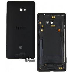 Задняя панель корпуса для HTC C620e Windows Phone 8X, черная
