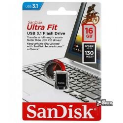 Флешка 16 Gb SanDisk Ultra Fit USB3.0
