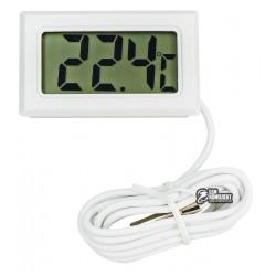 Термометр электронный ТРМ -10 с выносным датчиком, белый