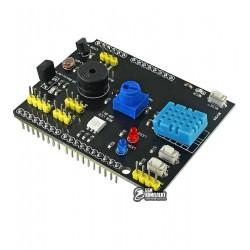 Модуль датчиков для Arduino UNO 9 в 1, DHT11, LM35, фоторезистор, зуммер, светодиод, кнопки …
