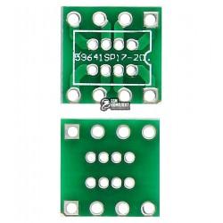 Переходник адаптер miniDIP8 1.27mm на DIP8