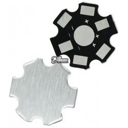 Радиатор STAR подложка под светодиод звезда алюминиевый