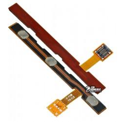 Шлейф для планшета Samsung P5100 Galaxy Tab2 , кнопки включения, коннектора зарядки