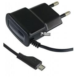 Зарядное устройство Toto TZY-64 Travel charger MicroUsb 700 mA, черное