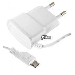 Зарядний пристрій Toto TZY-64 Travel charger MicroUsb 700 mA, білий