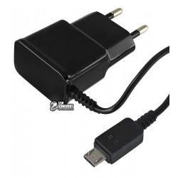Зарядное устройство Toto TZZ-60 Travel charger MicroUsb 1A, черное
