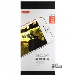 Закаленное защитное стекло 3D Remax Gener Full cover Curved edge для Iphone 6/6S, черное