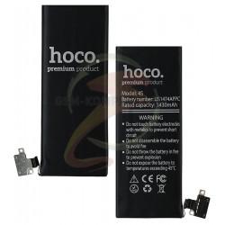 Аккумулятор Hoco для Apple iPhone 4S, Li-ion, 3,7 В, 1430 мАч, #616-0579/616-0580