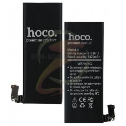 Аккумулятор Hoco для Apple iPhone 4, Li-ion, 3,7 В, 1420 мАч, #616-0513