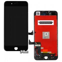 Дисплей iPhone 8 Plus, черный, с сенсорным экраном (дисплейный модуль), с рамкой, High Copy, Kingwo