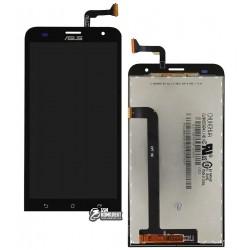 Дисплей для Asus ZenFone 2 Laser (ZE550KL), черный, с сенсорным экраном (дисплейный модуль)