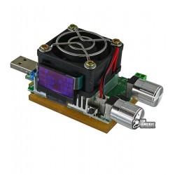 USB нагрузка 1-25V с регулировкой тока 0-4.5A, с поддержкой QC2.0, QC3.0, разъемы: Mini USB, Micro USB, Type-c, Lightning