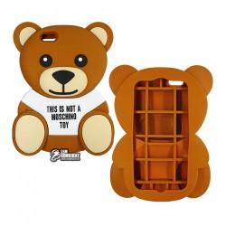 Чехол 3D Moschino медведь для iPhone 6/6S plus