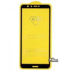 Закаленное защитное стекло для Samsung G885 Galaxy A8, A9 Star, 0,26 мм 9H, 2.5D, Full Glue, черное