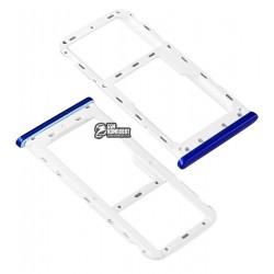 Держатель SIM-карты для Meizu M6, синий