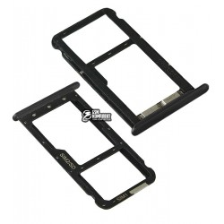 Держатель SIM-карты для Meizu M5C, черный