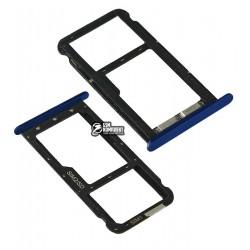 Держатель SIM-карты для Meizu M5C, синий