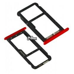 Держатель SIM-карты для Meizu M5C, красный