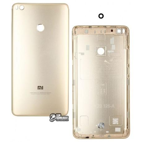 Задняя крышка батареи для Xiaomi Mi Max 2, золотистая