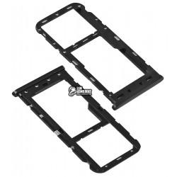 Держатель SIM-карты для Meizu M6, черный