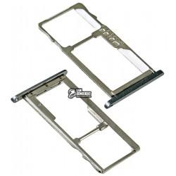 Держатель SIM-карты для Meizu M2 Mini, серый