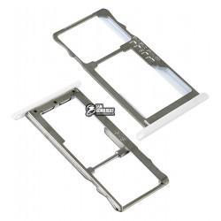 Держатель SIM-карты для Meizu M2 Mini, белый