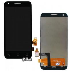 Дисплей для Alcatel One Touch 4027D Pixi 3 (4.5), черный, с сенсорным экраном (дисплейный модуль)