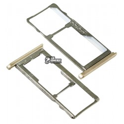 Держатель SIM-карты для Meizu M5S, золотистый