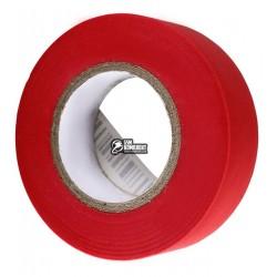 Изолента красная, ширина 18мм, длина 20м