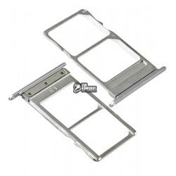 Держатель SIM-карты для Meizu MX5, серый