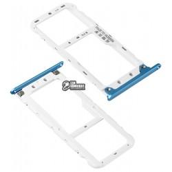Держатель SIM-карты для Xiaomi Redmi note 5, синий
