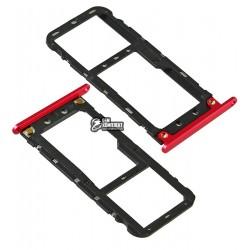 Держатель SIM-карты для Xiaomi Mi5X/Mi A1, красный