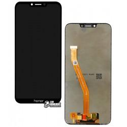 Дисплей для Huawei Honor Play, черный, с сенсорным экраном (дисплейный модуль), Original (PRC)