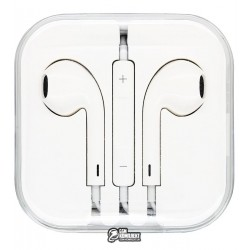 Наушники Apple EarPods 3.5 мм, Headphone Plug (MD827)