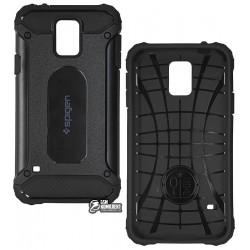 Чехол противоударный SGP Slim Iron для Samsung G900F Galaxy S5, силикон + пластик