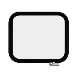 Закаленное защитное стекло для Apple Watch 44mm, 0,26 mm 9H, 3D Glass, 3D, черное
