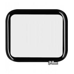 Закаленное защитное стекло для Apple Watch 40mm, 0,26 mm 9H, 3D Glass, 3D, черное