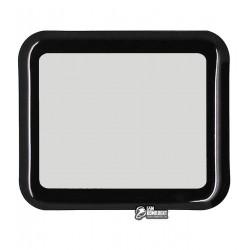 Закаленное защитное стекло для Apple Watch 38mm, 0,26 mm 9H, 3D Glass, 3D, черное
